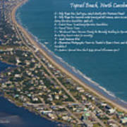 Topsail Beach Poster by Betsy Knapp