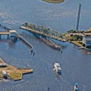 Topsail Swing Bridge Poster