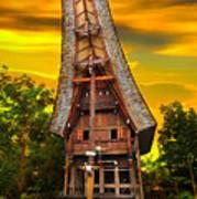 Toraja Architecture Poster