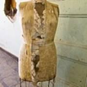 Torn Dress Form Poster
