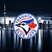 Toronto Blue Jays City Poster