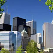 Toronto Downtown Skyline Poster