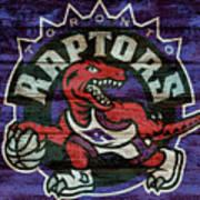 Toronto Raptors Barn Door Poster