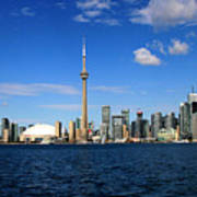 Toronto Skyline 26 Poster