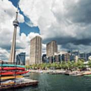 Toronto - Skyline / Harbourfront Poster