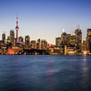 Toronto Sundown Poster