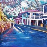 Tortola  Main Street Poster