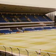 Tottenham - White Hart Lane - West Stand 2 - 1980s Poster