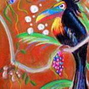 Toucanwine Bird Poster