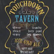 Touchdown Tavern Poster