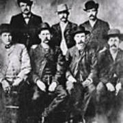 Tough Men Of The Old West Poster