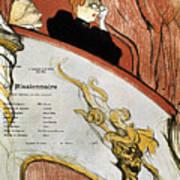 Toulouse-lautrec, 1893 Poster