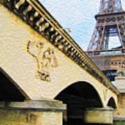 Tour De Eiffel Poster