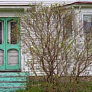 Tourquoise Door Poster