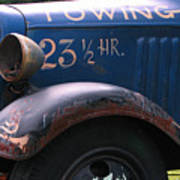 Tow Truck- 4 Poster