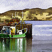 Towards Davaar From Campbeltown Poster