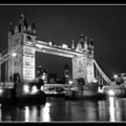 Tower Bridge London. Poster