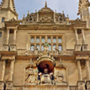 Tower Of The Five Orders Bodleian Library Oxford Poster