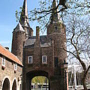 Town Gate - Delft Poster