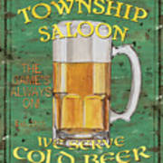 Township Saloon Poster