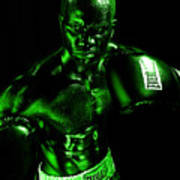 Toxic Boxer Poster by Val Black Russian Tourchin