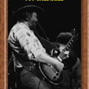 Toy Caldwell Of The Marshall Tucker Band Poster