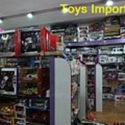 Toys Import Data India Poster