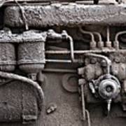 Tractor Engine II Poster