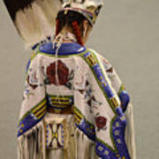 Pow Wow Traditional Dancer 1 Poster