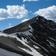 Trail From Grays To Torreys Poster