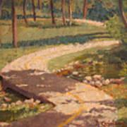 Trail Shadows Poster