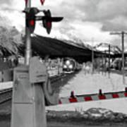 Train A Comin Poster