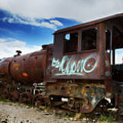 Train Graveyard Uyuni Bolivia 16 Poster