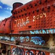 Train Graveyard Uyuni Bolivia 17 Poster