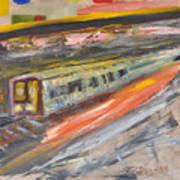 Train Ride Poster