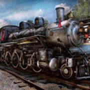 Train - Steam - 385 Fully Restored  Poster