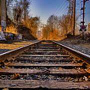 Train Tracks Poster