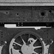 Train Wheel Poster