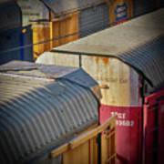 Trains - Nashville Poster