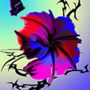 Trance Flower Poster