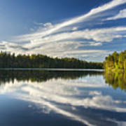 Tranquil Lake In Finland Poster