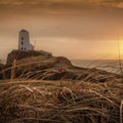 Tranquil Sunset At Llanddwyn Island - Anglesey, North Wales Poster