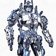Transformers Optimus Prime Or Orion Pax Graphic  Poster