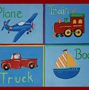 Transportation Modes Poster