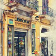 Trapani Art 21 Sicily Poster