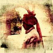 Travel Exotic Headgear Waiter Portrait Mehrangarh Fort India Rajasthan 2a Poster