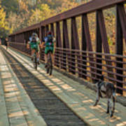 Travel The Buttermilk Trail Poster