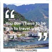 Travel Well Poster