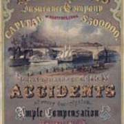 Travelers Insurance Company Advertising Poster