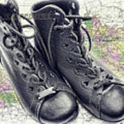 Traveling Boots Kentucky Poster
